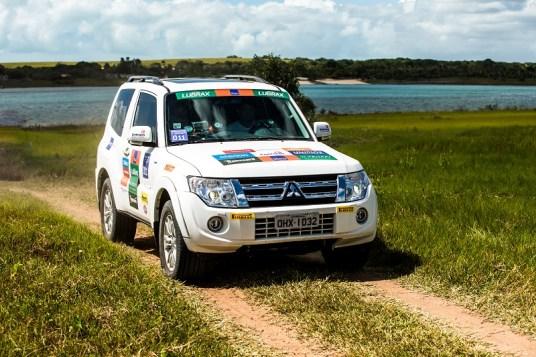Duplas enfrentarão trilhas desafiadoras. Foto: Ricardo Leizer / Mitsubishi