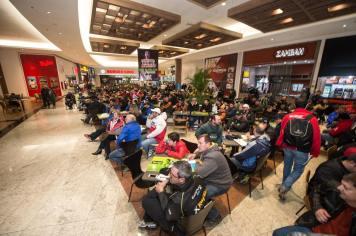 Toda a concentração do Rally Rota SC ficará novamente no Lages Garden Shopping (Gustavo Epifanio/DFotos)
