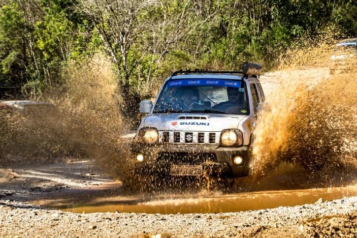 Ralis da Suzuki chegam a Itapeva (MG) neste sábado. Foto: Ricardo Leizer / Mitsubishi