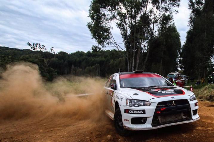 Parceria conquistou mais um título . Foto: Divulgação / Mitsubishi