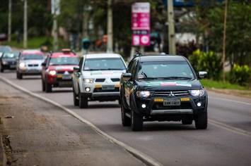 Percursos mesclarão trechos de asfalto e de terra. Foto: Tom Papp / Mitsubishi
