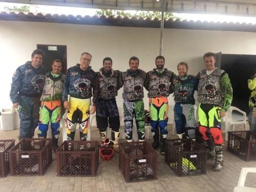 Lençóis Maranhenses: Equipe no início de dezembro, no Brasil Moto Tour (Divulgação)