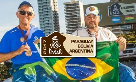 Lourival Roldan e Leandro Torres direto do Dakar 2017