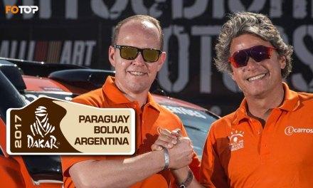 Dupla brasileira vai correr o Dakar na categoria carros