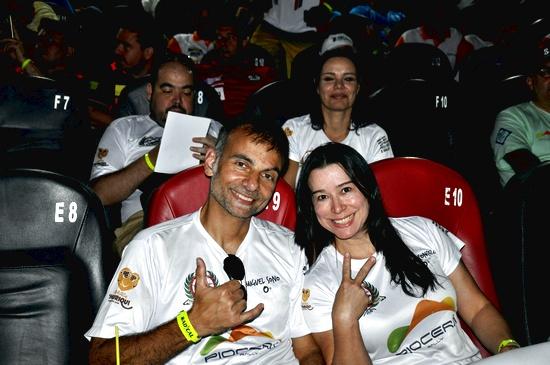 A dupla formada pelo casal Miguel Sono e Rosi Vasconcelos (Angelo Savastano/SavaPhoto )