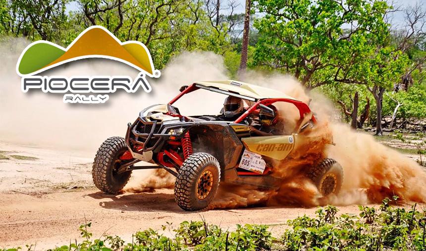 Rally Piocerá – Lucas Barroso é tetracampeão com o novo UTV Can-Am Maverick X3 X RS