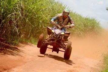 O piloto de Taubaté (SP) venceu os dois dias de provas do Rally de Barretos (Luciano Santos/DFotos)