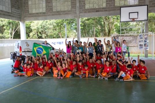 A ação social do Ral Ilha será novamente na Escola de Pedrinhas em Ilha Comprida (Lucas Carvalho/Photo Action)