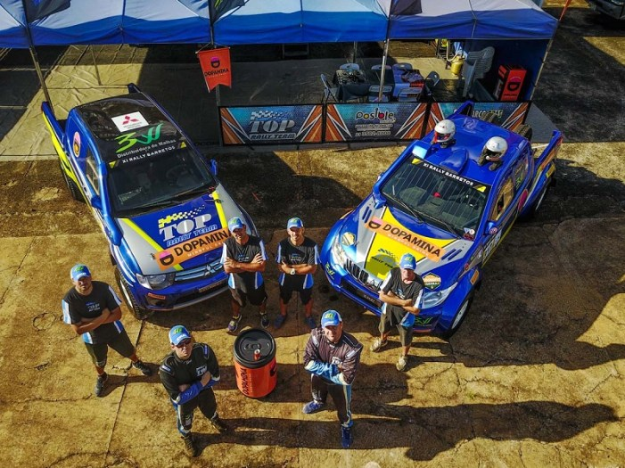 Equipe Top Rally Team com formato 2017 (Sanderson Pereira/Photography)