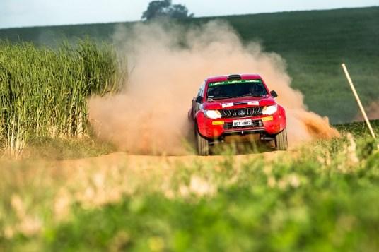 L200 Triton Sport RS estreou na etapa de Mogi Guaçu (SP). Foto: Ricardo Leizer/Mitsubishi