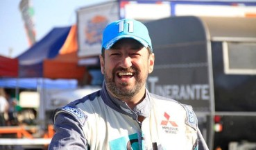 Fontoura está animado para testar as novas modificações no carro (Léo Magalhães/ Tulipa Rally)