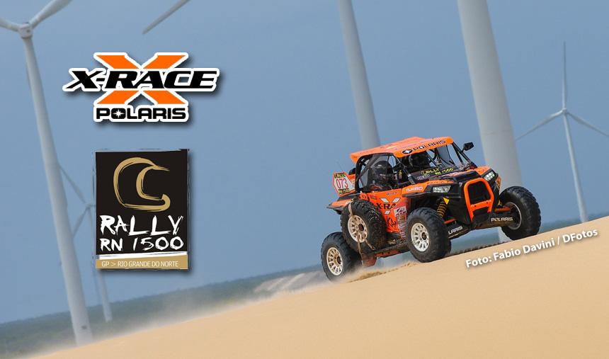 Rally RN 1500 – Francinei Costa e Décio Benevides são campeões dos UTVs
