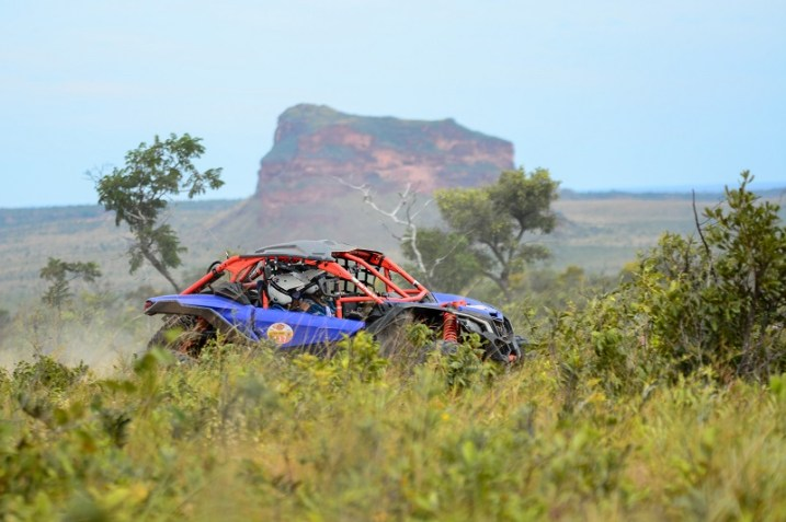 O deserto do Jalapão foi desafio do fim de semana da dupla (Lucas Carvalho/ Photo Action)
