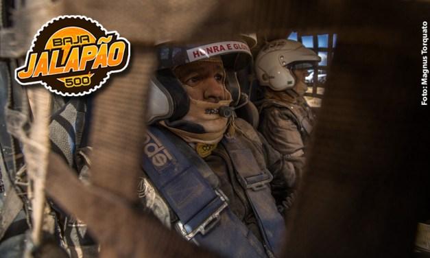 Edu Piano e Solon Mendes terminam o Baja Jalapão 500 em 3º na UTV Pró
