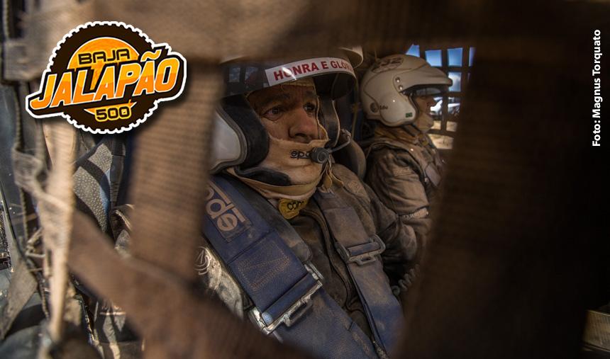 Edu Piano e Solon Mendes juntos no Baja Jalapão 500