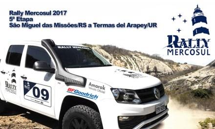 RALLY MERCOSUL 2017 – 5ª Etapa – São Miguel das Missões/RS a Termas del Arapey/URU