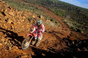 Tunico Maciel superou todos os obstáculos e foi o mais rápido entre as motos (Luciano Santos/SigCom)