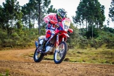 Tunico Maciel conquistou o título nas motos (Foto: Idário Café)
