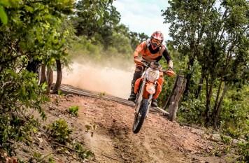 A prova vale pontos para o Brasileiro de Rally Baja para motos, quadris e UTVs (Luciano Santos/SigCom)
