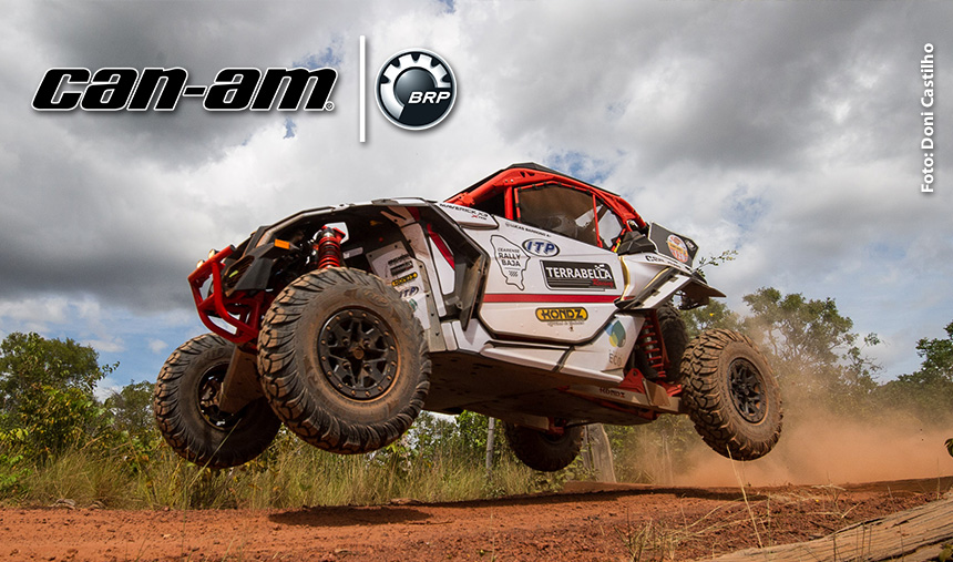 Can-Am Maverick X3 é o UTV de 13 dos 15 primeiros no Rally de Inverno