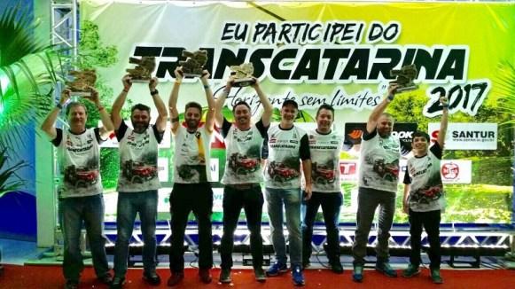 Trancos & Barrancos 9º Transcatarina (Crédito Divulgação)
