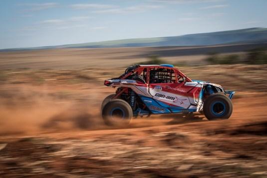 Bruno Varela no Rally de Inverno com o UTV Can-Am Maverick X3 Crédito: Alexandre Moreira/DFotos