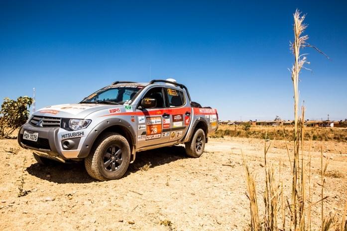 Veículos acompanharão todo o trajeto da competição. Foto: Ricardo Leizer / Mitsubishi