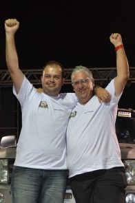Os cariocas Roberto Bontempo e Leonardo Martins são estreantes no evento (Savastano Photo)