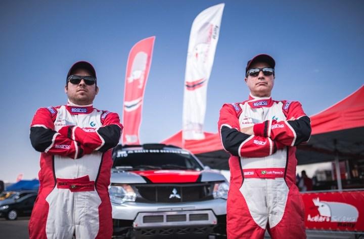 Facco e Ribeiro competem neste Rally dos Sertões na Protótipos T1. Foto: Victor Eleutério/Fotop