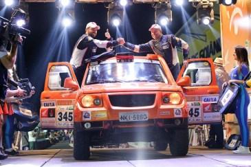 Largada Promocional, na noite de sábado, no Autódromo de Goiânia (Marcelo Machado/Fotop)