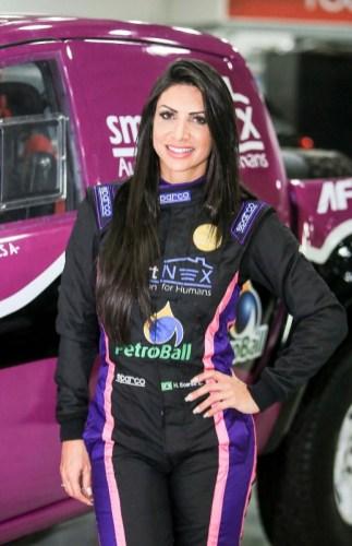 Piloto Helena Soares (Sanderson Pereira/PhotoEsporte)