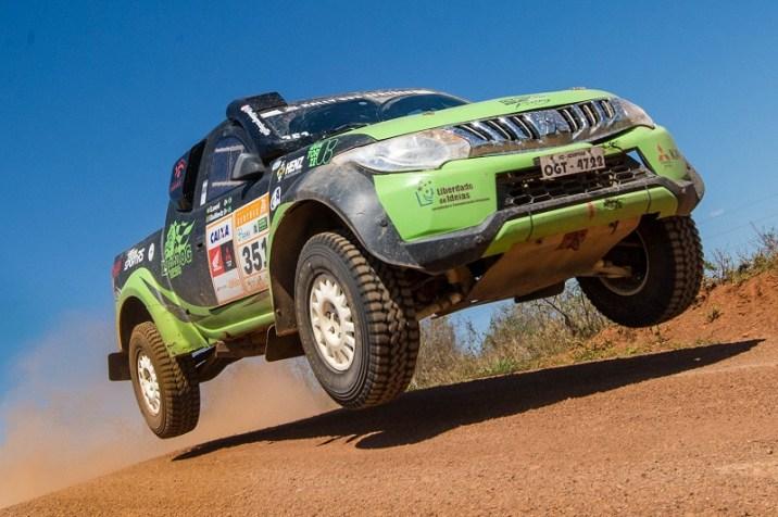 Bulldog Racing está prestes a se tornar vice campeã do Rally dos Sertões (Doni Castilho/DFOTOS)