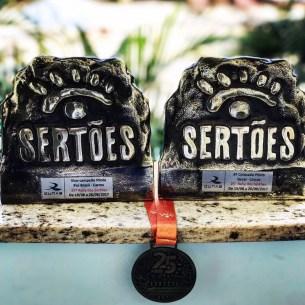 A Bulldog Racing levou para casa dois troféus do maior rali do Brasil.