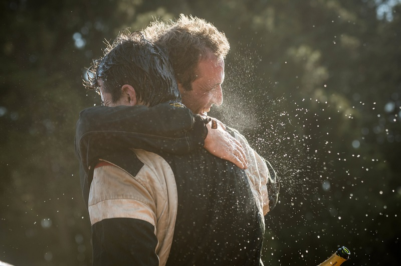 Terpins e Maykel ao final da última Especial: missão cumprida (Marcelo Maragni/Fotop)