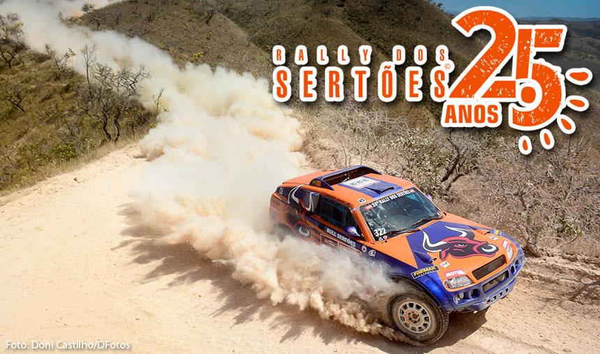 Michel Terpins e Maykel Justo contam as horas para acelerar no Rally dos Sertões