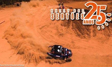 Edu Piano e Solon Mendes estão em 4ª no acumulado na reta final do Rally dos Sertões