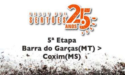 25º Rally dos Sertões – 5º dia