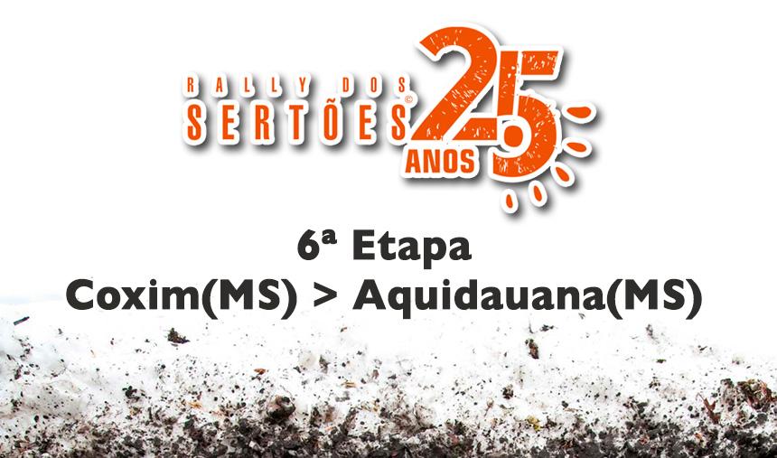 25º Rally dos Sertões – 6º dia