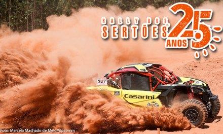 Rally dos Sertões – Deninho Casarini e Luis Eckel largam na frente dos UTVs