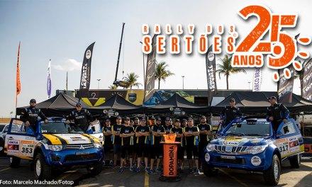Thiago Rizzo e Leonardo Magalhães fecham em terceiro no prólogo do Rally dos Sertões 25 anos