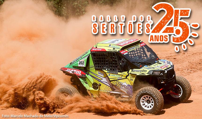 Leandro Torres e Lourival Roldan seguem em primeiro na categoria no Rally dos Sertões