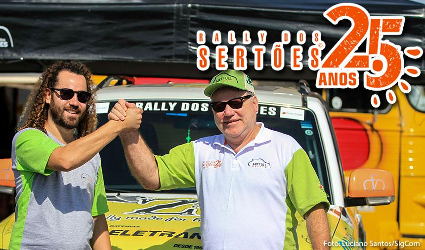 Rally dos Sertões/Regularidade: Otávio e Allan Enz conquistam mais uma vitória e assumem a liderança