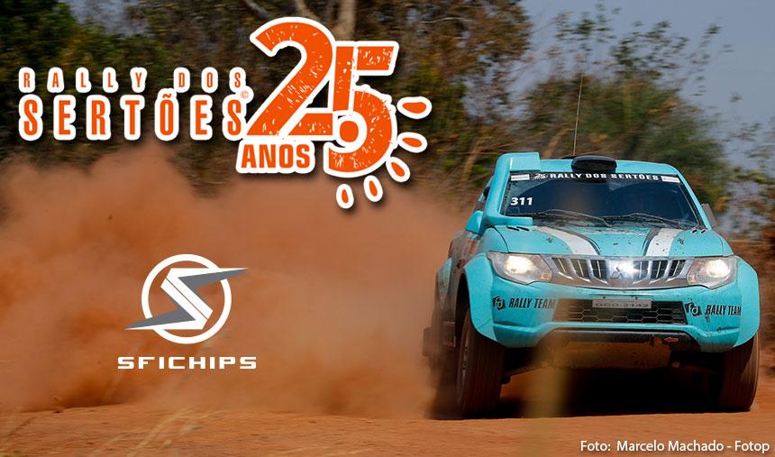 Rumo ao Mato Grosso do Sul, duplas da SFI CHIPS disputam ponto a ponto o título no Rally dos Sertões