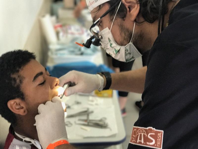 Atendimentos odontológicos (S.A.S.Brasil/Vipcomm)