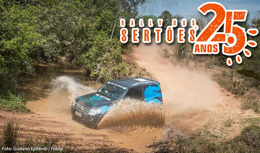 Mitsubishi Motors vence o Rally dos Sertões em três categorias e domina a prova de regularidade