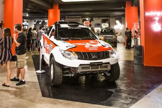 L200 Triton Sport SR é destaque no MIT Point. Foto: André Mortatti / Mitsubishi