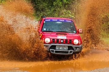 Percurso teve muita lama. Foto: Cadu Rolim / Suzuki