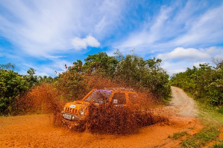 Rali Suzuki Off-Road passou por belos trechos na Grande SP. Foto: Cadu Rolim / Suzuki