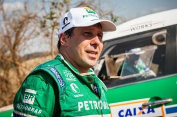 Guiga Spinelli - piloto Petrobras Rally Team. Foto: Marcelo Maragni