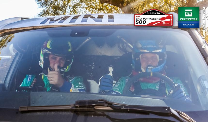 Petrobras Rally Team faz o primeiro teste com o Mini All4 Racing, em Portugal, para a disputa da última etapa do Mundial de Rally Cross-Country